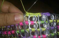 Bolsa de anilla sobre anilla