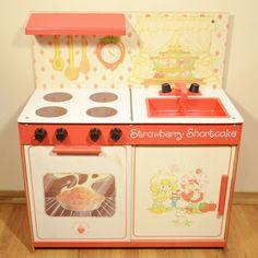 17 Play Kitchen Ideas Vintage Strawberry Shortcake