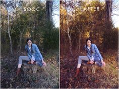 """Free """"Super Warm"""" Lightroom Preset from Goldygates Photography 