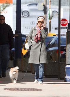 Natalie Portman - Celebrities and their dogs