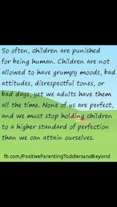 Great parenting advice!