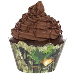 DADDY TO BE SHOWER camo cupcakes | Hunter Camo Cupcake Wrappers (12), FREE shipping offer, 50% off ...
