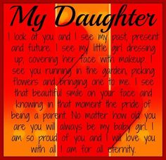 My Daughter Pictures, Photos, and Images for Facebook, Tumblr, Pinterest, and Twitter
