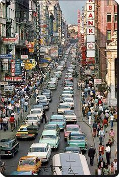 ✿ ❤ İstanbul, Istiklal caddesi - Istiklal street (#AraGuler 1970)