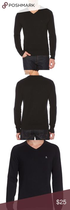 Original Penguin Soft V-Neck Sweater 💯 Cotton L Super Soft V Neck Original Penguin Sweater. Great for fall and layering. New without tags. My husband never wore it. Check out my closet to bundle and save or make me a reasonable offer! Size Large. No defects! Original Penguin Sweaters V-Neck