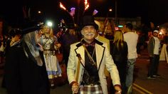 Steampunk Parade through First Friday Arts District at Steamathon 2015. Doc Phineas' World Steampunk Conventionin in Las Vegas at the Main Street Station Hotel and Casino #steamathon