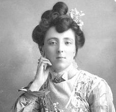 "Lucy Maud Montgomery, great Canadian Authoress.  My favorite ""Kindred Spirit"".  Introduced the world to her beloved Prince Edward Island."