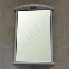 Reims 120cm Tall X 38cm Wide Single Door Corner Mirrored Bathroom Cabinet |  Bathroom | Pinterest | Corner Mirror, Mirror Cabinets And Mirror Bathroom