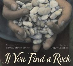 If You Find a Rock by Peggy Christian. Preschool book to inspire a love of rocks.