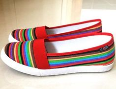 Cool comfy slip-on casual shoes for any relaxing day Made from high quality materials Rubber sole Available in 3 colors