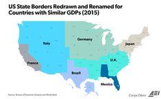 Visualizing America's $18 Trillion Economy (In 3 Stunning Maps) | Zero Hedge