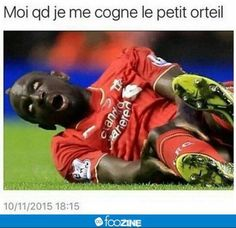 Mamadou Sakho has been suspended by Liverpool after failing a drugs test on March! Soccer Memes, Football Jokes, Sport Football, Rage, Funny Jokes, Hilarious, Lol, Laughing And Crying, Good Humor