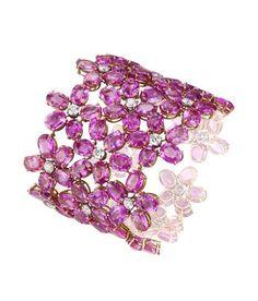 Pink sapphire bracelet, Chopard