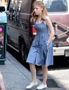 Anna Kendrick #celebrity #streetstyle