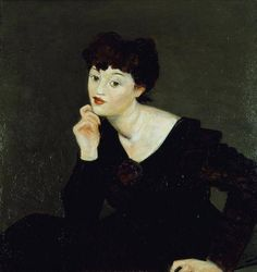 Isabel Lambert, mid ,by Andre Derain - Cd Paintings André Derain, Alberto Giacometti, Harlem Renaissance, Pablo Picasso, New Objectivity, Magic Realism, Portraits, Art Deco, Art Moderne