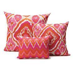 orange and fuchsia home decor - Google Search