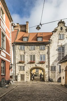 Swedish Gate in Riga #Travel #OldTown #Latvia