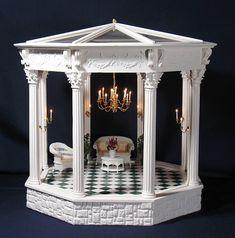 Dollhouse Miniature Gazebo