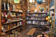 Heirloom in Claremont, Ca just added a fabulous book gallery to their store!!