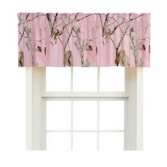 Realtree All Purpose Pink Camo Valance- Camouflage bedding- Cabin Hunting decor Cafe Curtains, Drapes Curtains, Camo Crib Bedding, Camo Baby Stuff, Crib Sets, Cool House Designs, Comforter Sets, Cribs, Interior Design