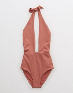 Cute One Piece Swimsuits, Swimsuits For Teens, Two Piece Swimwear, Women Swimsuits, Suits Season, Orange Swimsuit, Night Club Outfits, Mens Outfitters, Eagle Outfitters