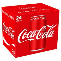 Buy Coca Cola from Morrisons. Find your favourite groceries, household essentials at the online supermarket Coca Cola Mini, Milkshake Drink, Always Coca Cola, Beer Packaging, Sports Drink, Morrisons, Coco, Lemonade, Starbucks Recipes