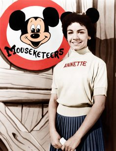 Mouseketeer Annette Funicello in The Mickey Mouse Club (1955-60, ABC)