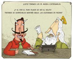Montt y sus caricaturas
