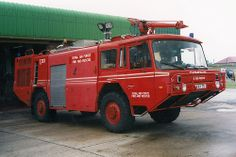 RAF Royal Airforce Fire and Rescue, Scammell MK10