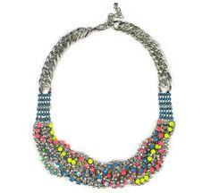 Wrapped Bib Necklace