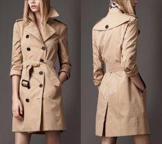 Burberry-London-Honey-Trenchcoat-Slim-Fit-S-UK-6-US-4