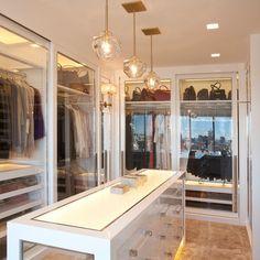 Dress room closet walk in wardrobe 49 best Ideas Walk In Wardrobe, Walk In Closet, Master Closet, Closet Space, Closet Doors, White Closet, Master Bedroom, Houses Architecture, Dressing Room Closet