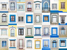 This series, titled Windows of the World, shows the difference in architecture and color from buildings in London to homes in Lisbon. Artfully compiling the photographs of windows into a collage piece, André Vicente Gonçalves demonstrates the variety that is possible in a detail as small as a window.