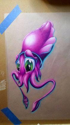 new school tattoo cartoon art Cool Art Drawings, Colorful Drawings, Animal Drawings, Tattoo Drawings, Art Tattoos, Sleeve Tattoos, Airbrush Designs, Airbrush Art, 4 Tattoo