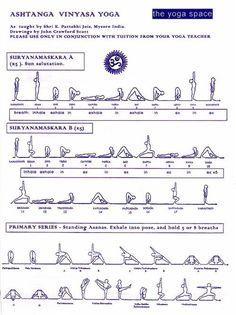 Surya Namaskara/Sun Salutation/Saludo al Sol – Proyecto Yoga Unlimited Yoga Bewegungen, Ashtanga Vinyasa Yoga, Yoga Moves, Yoga Flow, Yoga Meditation, Yoga Exercises, Men Yoga, Pilates Yoga, Iyengar Yoga