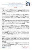 #Rechtschreibtraining 3.Klasse Arbeitsblätter / #Uebungen / Aufgaben für den Rechtschreib- und Deutschunterricht - #Grundschule.  Es handelt sich um 37 Diktattexte, die auf 37 Arbeitsblätter verteilt sind. In den Texten sind Fehler eingebaut. Diese müssen erkannt werden und zur Übung wird der Text richtig geschrieben. Wortschatz 3.Klasse.  Schriftart: Grundschule Basic  37 Arbeitsblätter + 5 Lösungsblätter