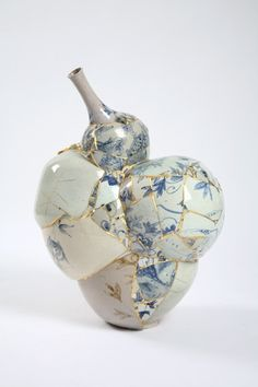 Have a Heart: As traditional kintsugi melds with the contemporary world, I arrive at the deconstructed and reimagined work of artists such as the brilliant artist Korean Yee Sookyung #sdc