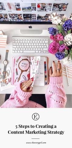 5 Steps to Creating a Content Marketing Strategy: 5 Steps to Creating a Content Marketing Strategy Blogging, Desk Inspiration, Flat Lay Inspiration, Flat Lay Photography, Photography Ideas, Photography Sketchbook, Content Marketing Strategy, Design Studio, Home Based Business