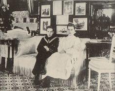 Grand Duke Dmitri Pavlovich and Grand Duchess Maria Pavlovna