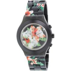 Generally made of plastic, featuring bright colors, trendy designs, Swatch watch…