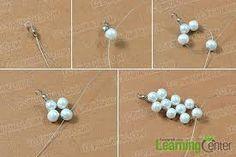 Resultado de imagen para como hacer collar de perlas