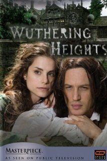 Wuthering Heights (2009) Poster. Bane as Heathcliff and Rick Grimes as Edgar Linton.