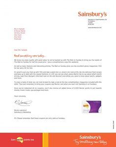 Direct mail campaign in partnership with You Magazine