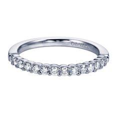 Fern Ladies Classic Straight Diamond Wedding Band from Steven Singer Jewelers