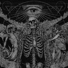 And hell will follow my — demons and angels in prostration death