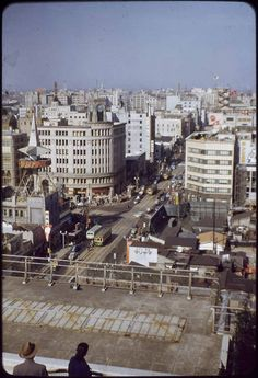 Tokyo 1953 War Wounds have healed, a year ago, formally ended the American occupation. Most of the cars until American. Interestingly, a ...