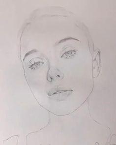Art Drawings Sketches Simple, Pencil Art Drawings, Realistic Drawings, Watercolor Painting Techniques, Watercolor Portraits, Watercolor Paintings, Watercolor Face, Watercolor Illustration, Drawings Pinterest