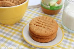 3 Ingredient Peanut Butter Cookies So super simple to whip up in a few minutes time. You will love how quick, simple and tasty they are.