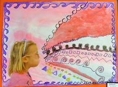 Field Elementary Art Blog! kinders?