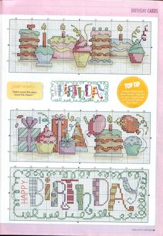 Baby Cross Stitch Patterns, Cross Stitch Borders, Cross Stitch Designs, Cross Stitching, Cross Stitch Embroidery, Cupcake Cross Stitch, Cross Stitch Bookmarks, Cross Stitch Cards, Cross Stitch Alphabet
